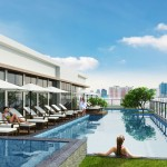 goldview apartment in District 4 swimming pool