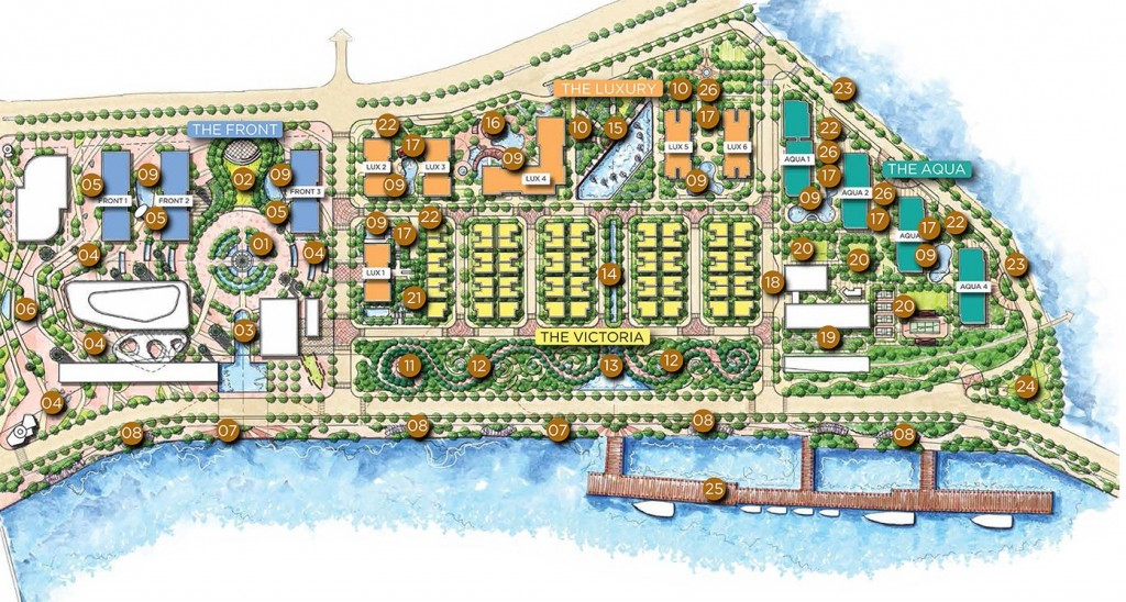 vinhomes Golden River services plan